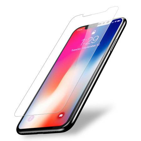 Tempered Glass for iPhone Screen Protector Anti fingerprint NEW 2 Pack