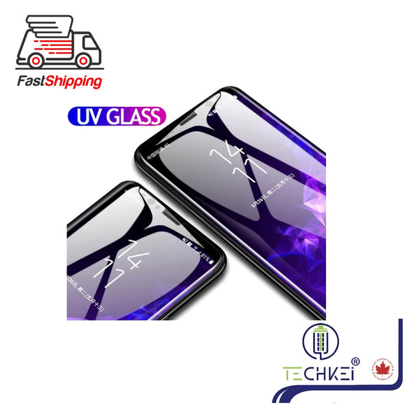 UV Glue Nano Optics 3D Curved 9H Samsung Tempered Glass Screen Protector