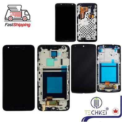 LCD Screen Replacement Part for Nexus 4 5 5X 6 6P with Frame High Quality New