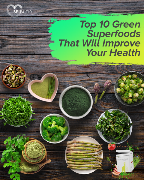 Top 10 Green Superfoods That Will Improve Your Health
