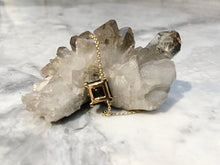 Load image into Gallery viewer, SMOKEY QUARTZ ENERGY STONE COLLARBONE NECKLACE