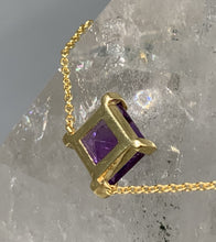 Load image into Gallery viewer, AMETHYST ENERGY STONE COLLARBONE NECKLACE