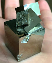 Load image into Gallery viewer, DOUBLE CUBE PYRITE BLOCK