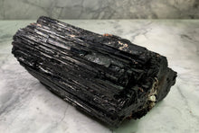 Load image into Gallery viewer, LARGE PIECE BLACK TOURMALINE - RARE SIZE - BRAZIL
