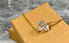Load image into Gallery viewer, HERKIMER DIAMOND COLLAR BONE NECKLACE - LG