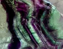 Load image into Gallery viewer, STUNNING FLUORITE SLICE