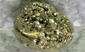 PYRITE EGG - MEDIUM