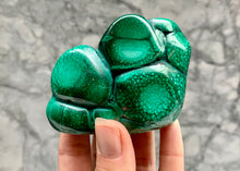 Load image into Gallery viewer, SELECTION OF MIXED RAW & POLISHED MALACHITE - CONGO