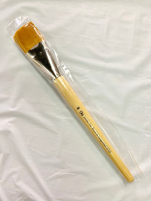 "Taklon 40 (1.5"" wide) Flat Brush"