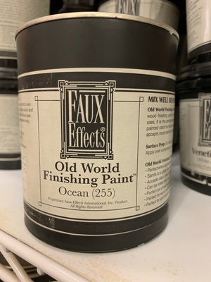Faux Effects Internations, Inc. Old World Finishing Paint