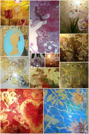 Verre Eglomise: The Art of Glass Gilding - November 4-5th, 9am to 5pm