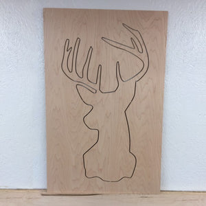 Deer Set (cutout shape & frame)