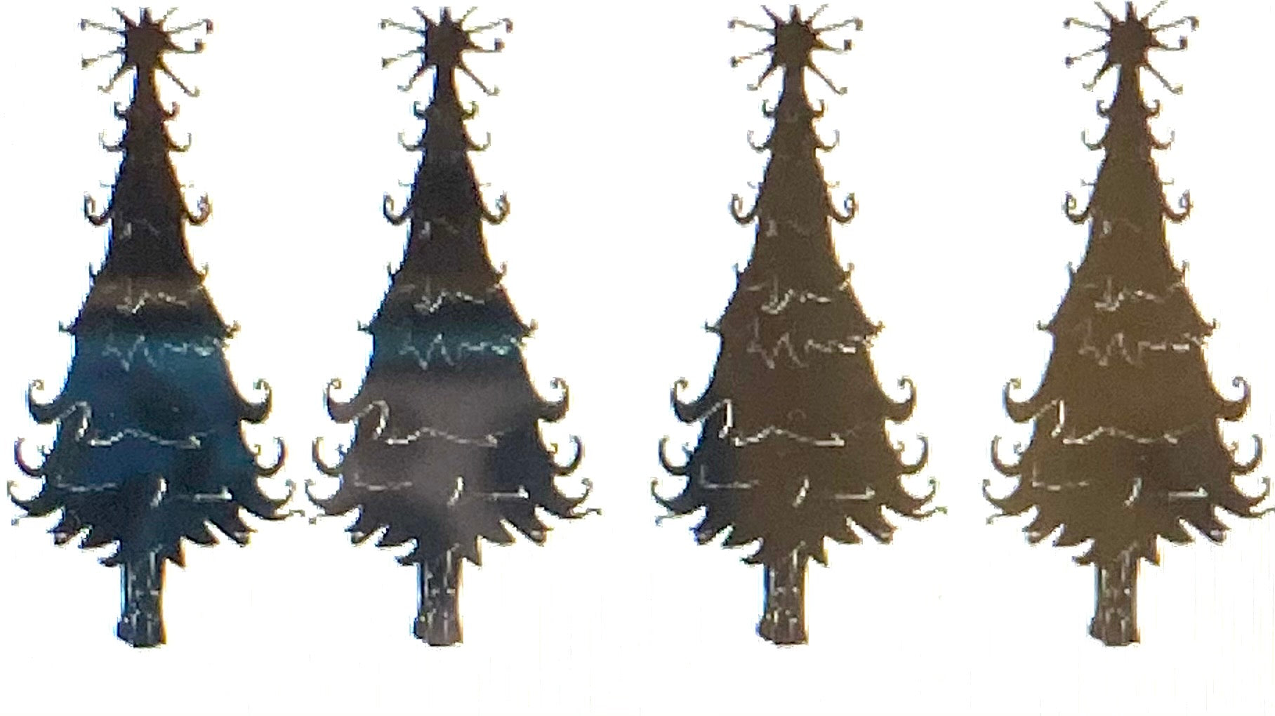 A Pair of Christmas Trees