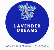Load image into Gallery viewer, Lavender Dreams Candle - relaxing scent of lavender touched with warm musk and sweet sandalwood