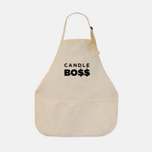 Load image into Gallery viewer, Candle Boss Tan Apron