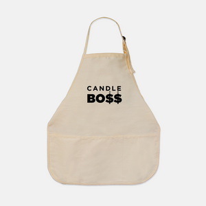Candle Boss Tan Apron