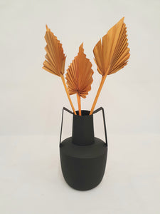 Matte black Bloomingville vase