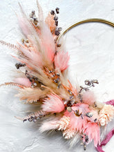 Load image into Gallery viewer, Peachy Rose Wreath - 10cm