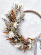Load image into Gallery viewer, Rusty Natural Wreath - 15cm