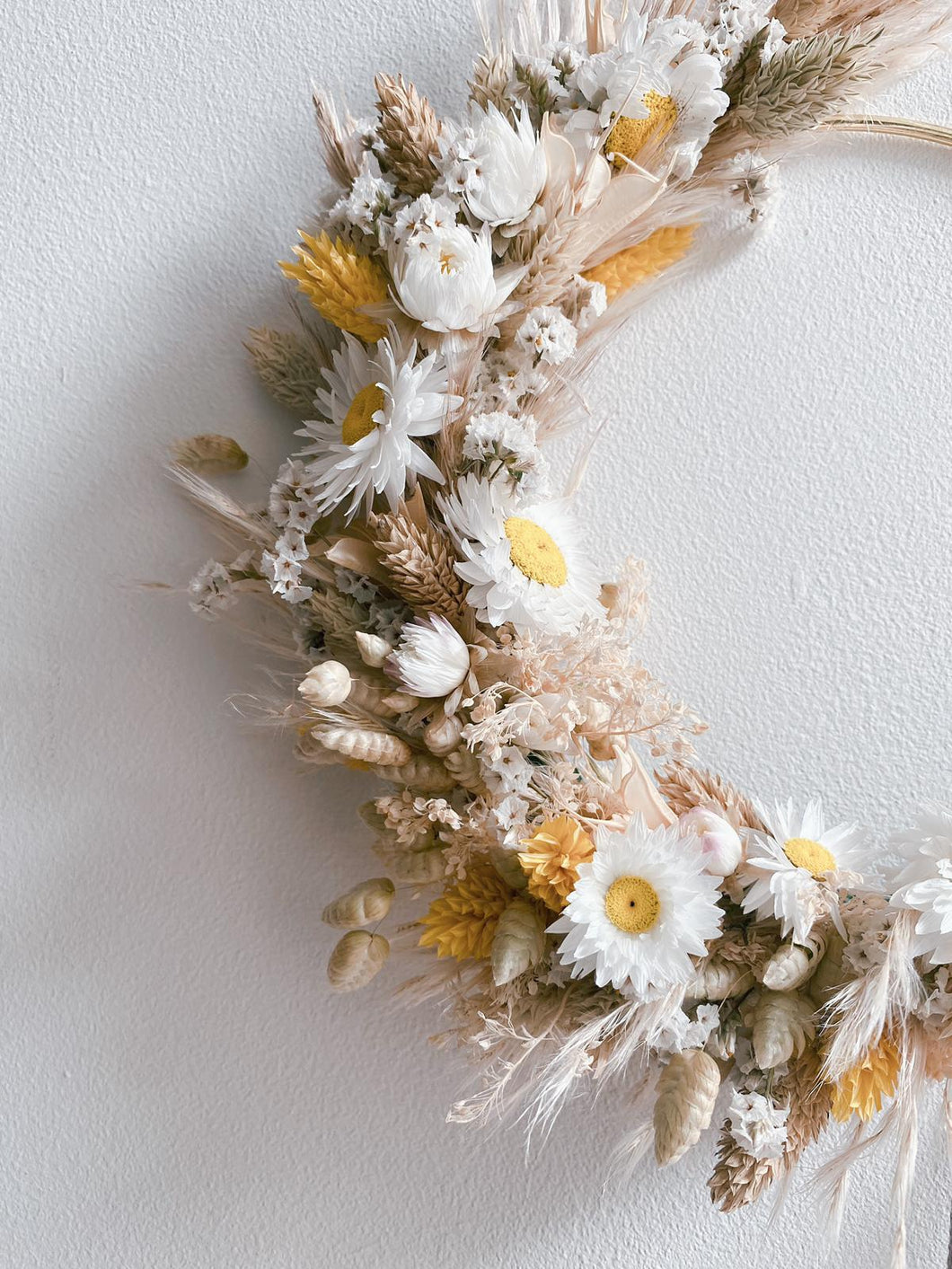 Yellows Wreath - 15cm