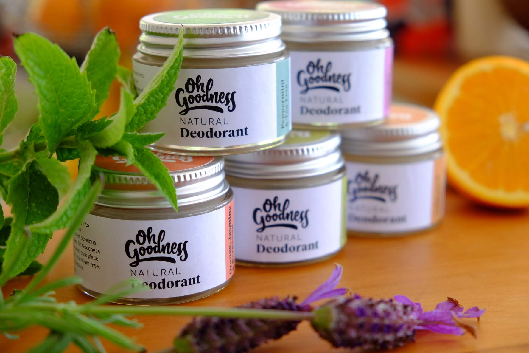 oh goodness natural deodorants