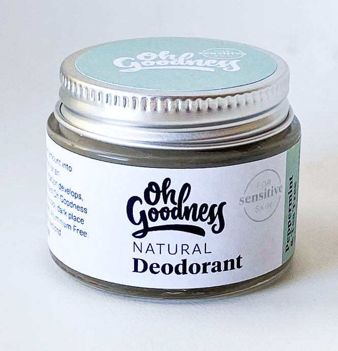Natural Deodorant - Peppermint & Tea Tree - Sensitive