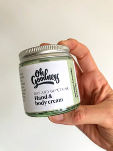 Oat & Glycerine hand & body cream