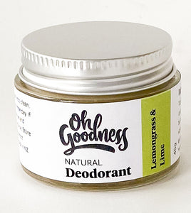 Natural Deodorant - Lemongrass & Lime