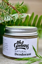 Load image into Gallery viewer, Natural Deodorant - Lemongrass & Lime