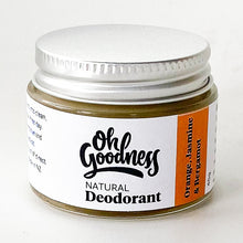 Load image into Gallery viewer, Natural Deodorant - Orange, Jasmine & Bergamot