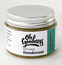 Load image into Gallery viewer, Natural Deodorant - Peppermint & Tea Tree