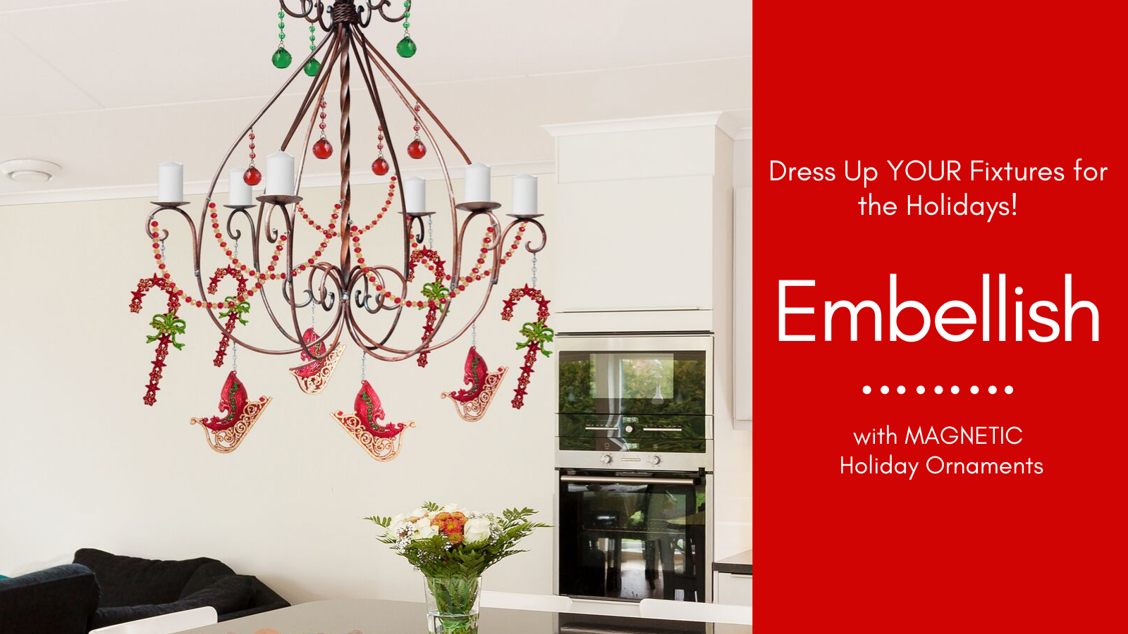 Perform INSTANT Chandelier Makeovers with MAGNETIC ...