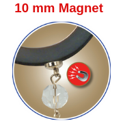 MagTrim® *10 mm Chandelier Magnet - Replacement Magnet Pack - Set/6 MagTrim Designs LLC