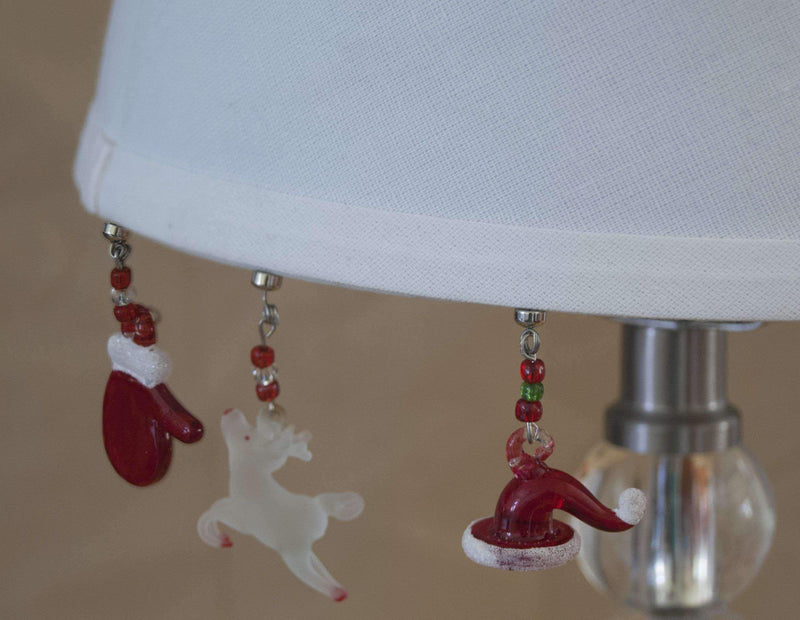 SHADE CHARMS SANTA HAT (Set/6) Lamp Shade TrimKit® MagTrim  (473592196)