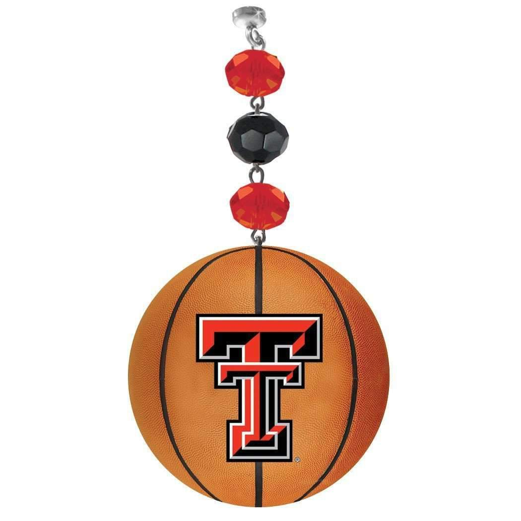 Texas Tech University - Team BASKETBALL (set of 3) MAGNETIC ORNAMENT MagTrim  (5415558021)