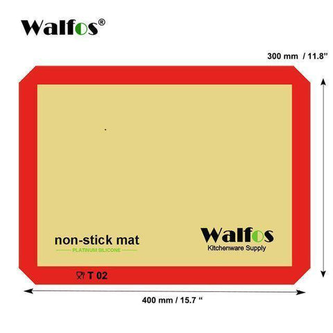 Image of Non-Stick Silicone Baking Mat
