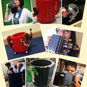 Creative Build-on Brick Cup