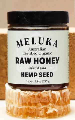 Hemp Seed Nutrition and The Buzz About Meluka Australia's Hemp Seed Honey