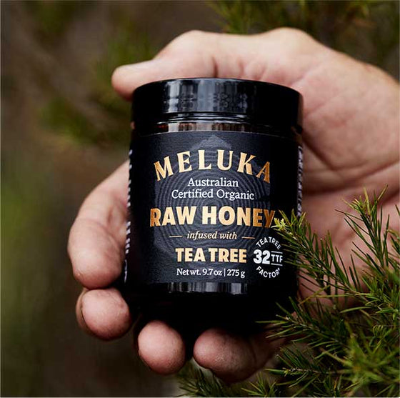Meluka 100% Organic Australian Native Raw Honey