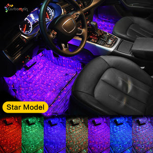 Multi-color Car Interior LED Under Dash Ambient Lights Kit