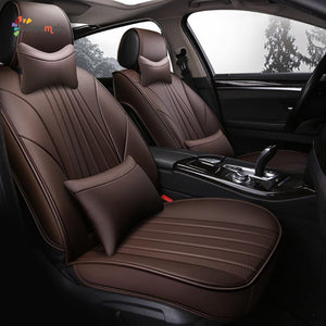 Universal Leather Car Seat Covers- Style II