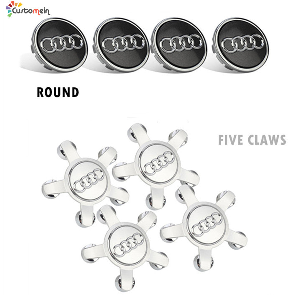 LED Wheel Center Cap Magnetic Suspension(4 PCs)