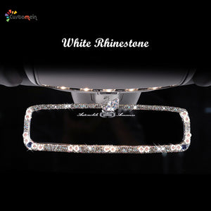 Luxurious Rhinestone Rearview Mirror