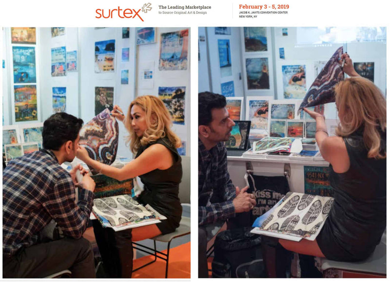 JOCELYN CRUZ, PUBLISHED ARTIST and OWNER, LIGHTHOUSE ART & DESIGN, TO EXHIBIT at SURTEX, Feb 3-5 2019