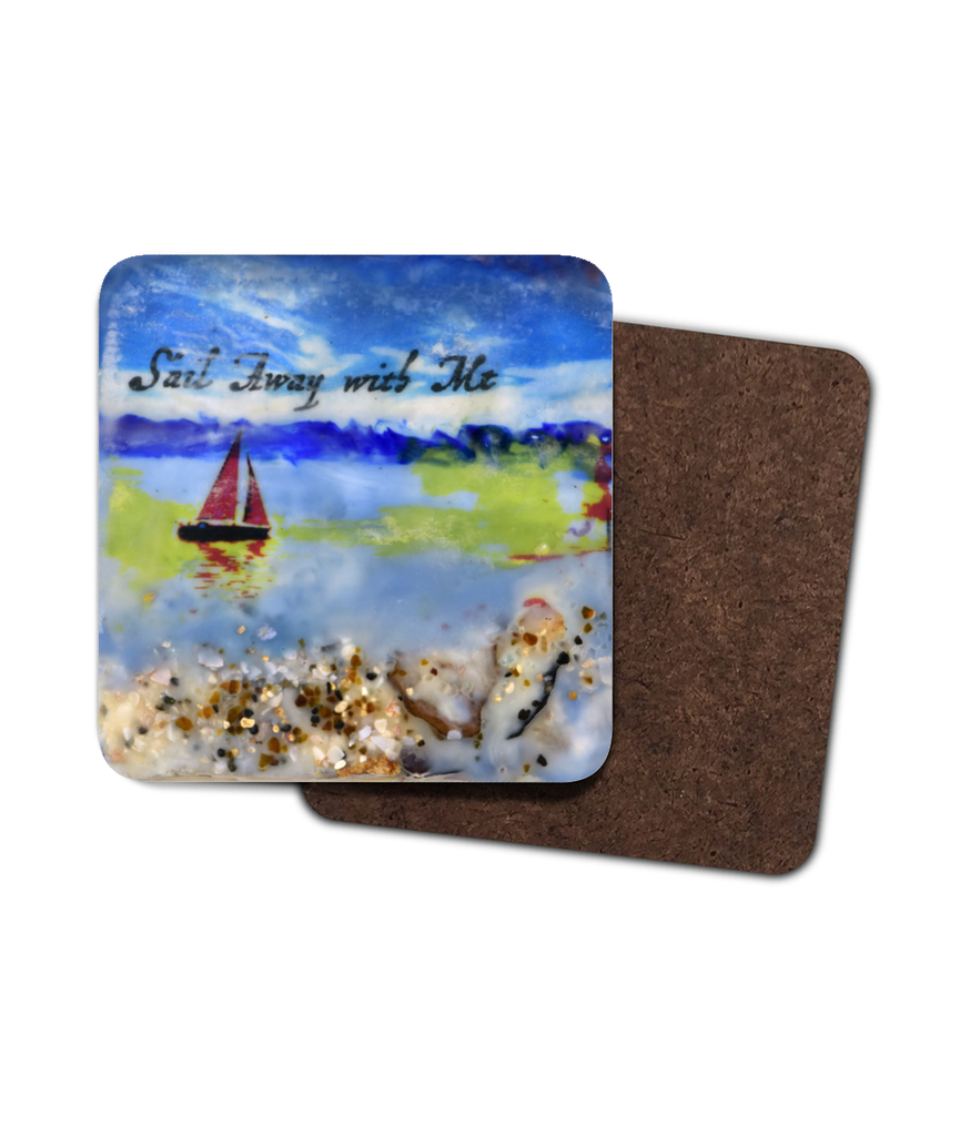 "Sea Echoes Collector Series: v1.4 ""Sail Away With Me"" - Coaster"