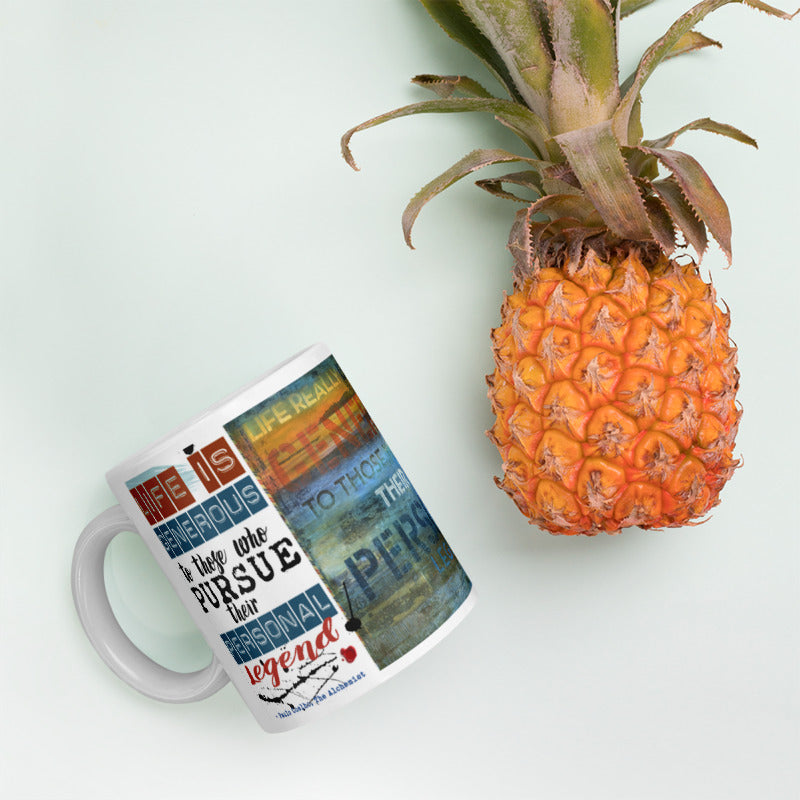 """The Alchemist Passport Collector Series: Monterey California - Life is Generous"" Art - Mug"