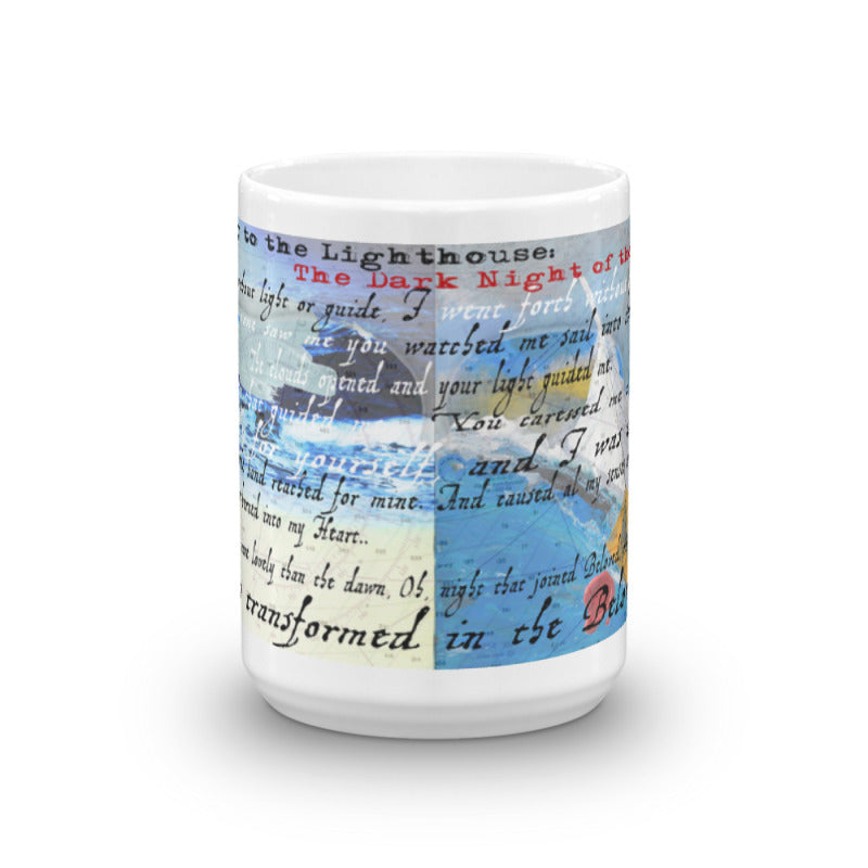 "Journey to the Lighthouse Collector Series: ""Dark Night of the Soul"" Art - Mug"