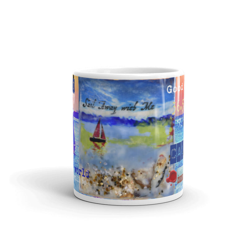 "Sea Echoes Collector Series: v1.4 ""Sail Away with Me"" Art - Mug"