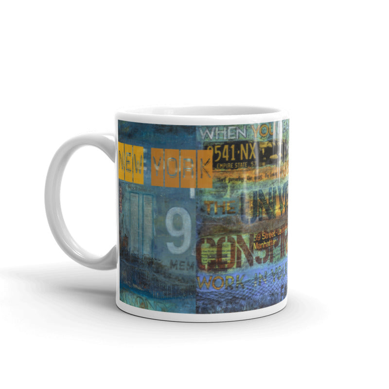 "Passport Collector Series: ""Empire State Of Mind New York"" Art - Mug"