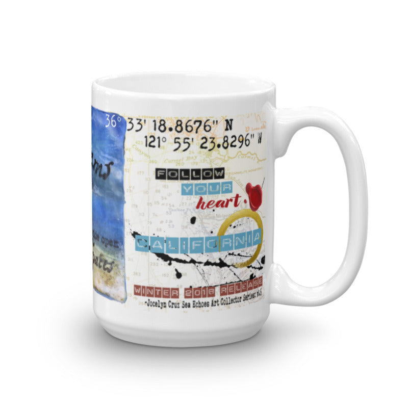 "Sea Echoes Collector Series: v1.6 ""Dreams Require Wide Open Spaces"" Art - Mug"